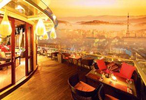 Cafe Sân thượng tại Dự án The Panorama Đà Lạt