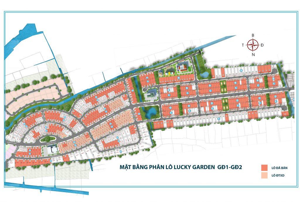 Giai đoạn 1 &2 Dự án đất nền Lucky Garden Bình Mỹ Củ Chi