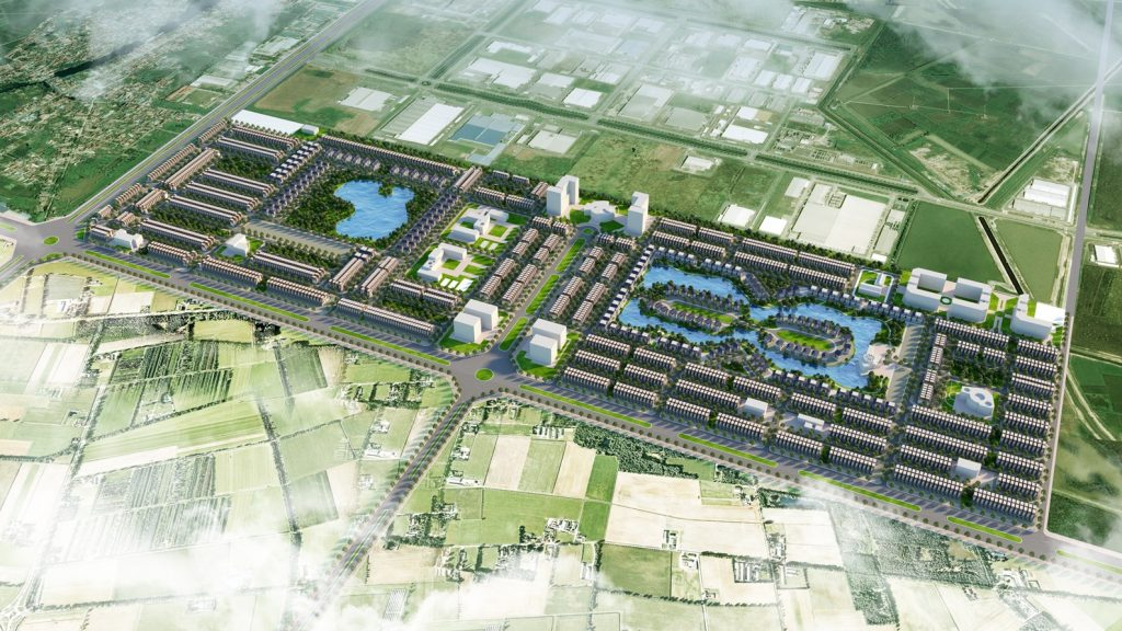 Tổng thể Dự án Đất nền Green City 1 Võ Văn Bích Bình Mỹ Củ Chi