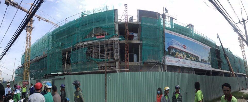 Trung tâm thương mại Satra Center Mall đang được xây dựng, dự kiến sẽ hoàn thành và đi vào hoạt động vào tháng 9 năm 2018