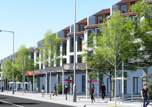 Phối cảnh nhà phố thương mại Dự án Shome Tây Bắc Củ Chi